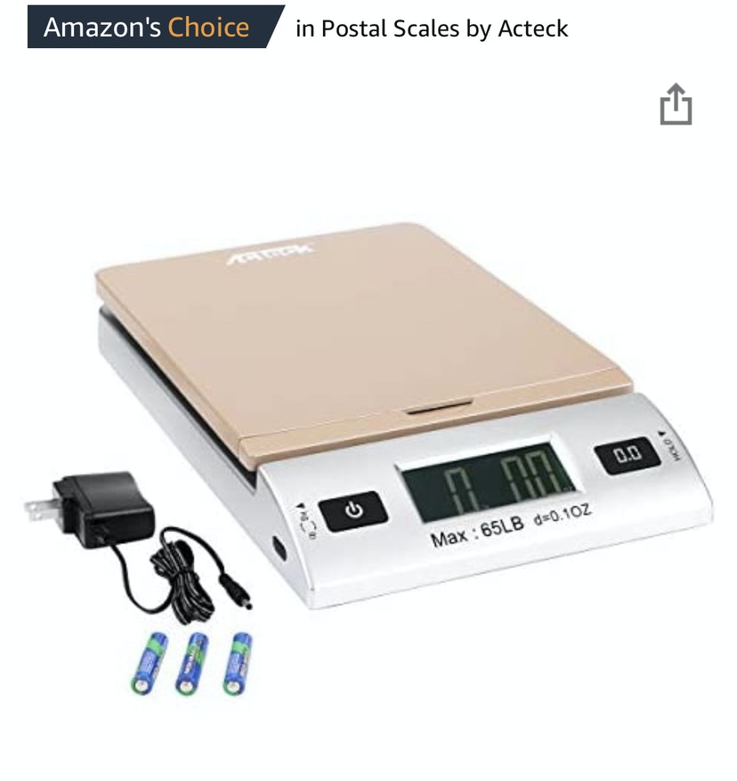 Acteck Shipping Scale
